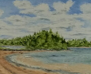 Brudenell Island oil on canvas